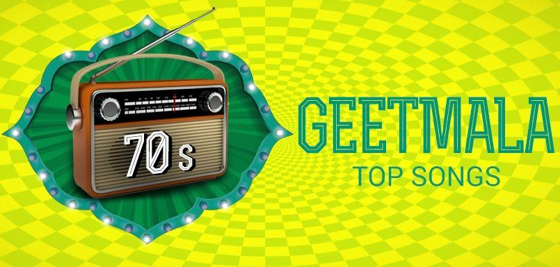 Geetmala Top songs 70s (1970)