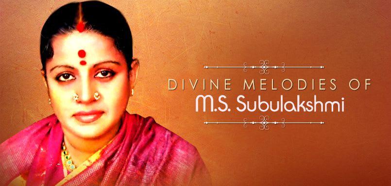 Divine Melodies of M.S. Subulakshmi