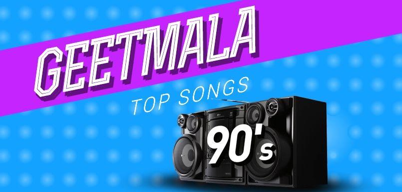 Geetmala Top songs 90s (1990)
