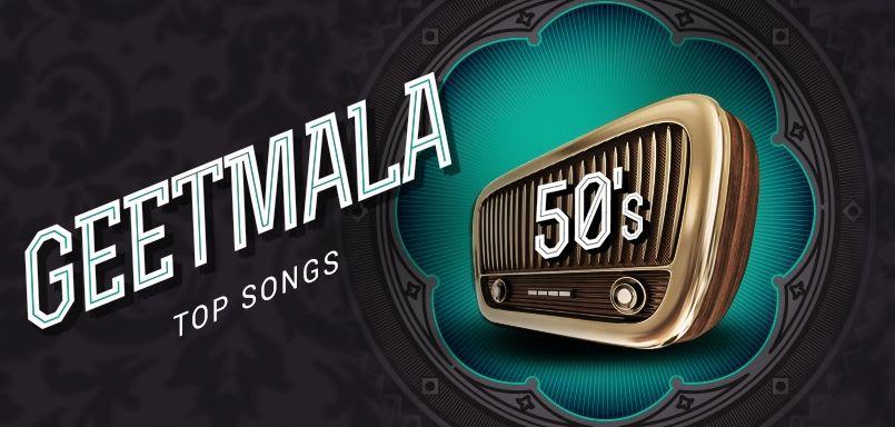 Geetmala Top songs 50s (1953)
